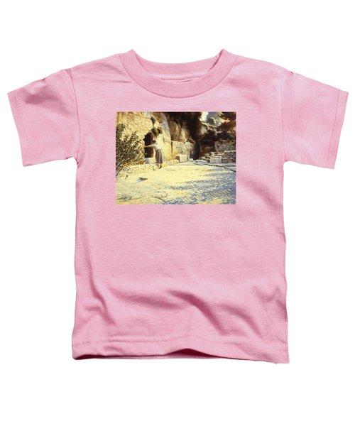 He Is Risen Toddler T-Shirt