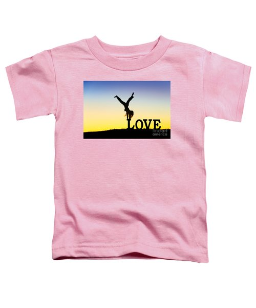 Head Over Heels In Love Toddler T-Shirt