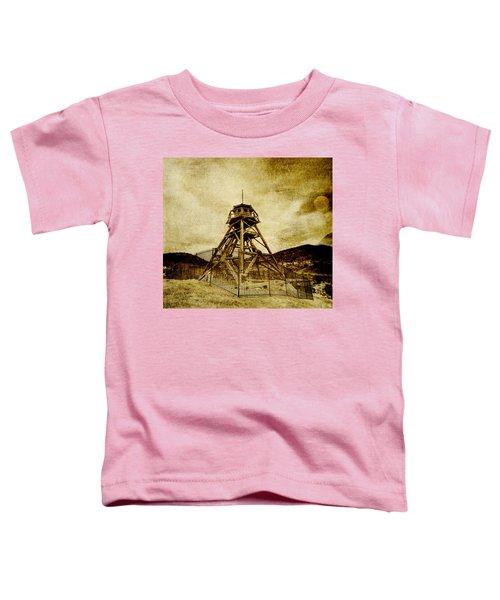 Helena-montana-fire Tower Toddler T-Shirt