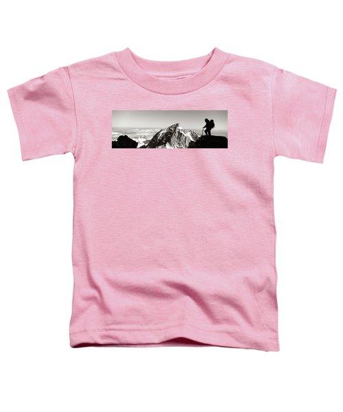 Hiker, Grand Teton Park, Wyoming, Usa Toddler T-Shirt