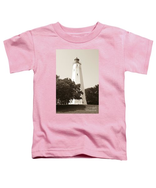 Historic Sandy Hook Lighthouse Toddler T-Shirt