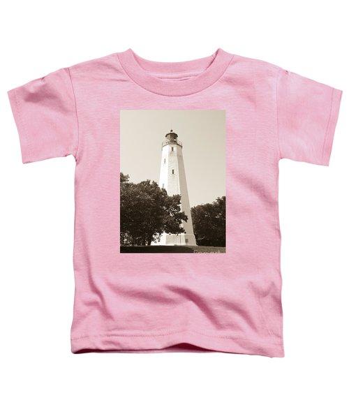 Historic Sandy Hook Lighthouse Toddler T-Shirt