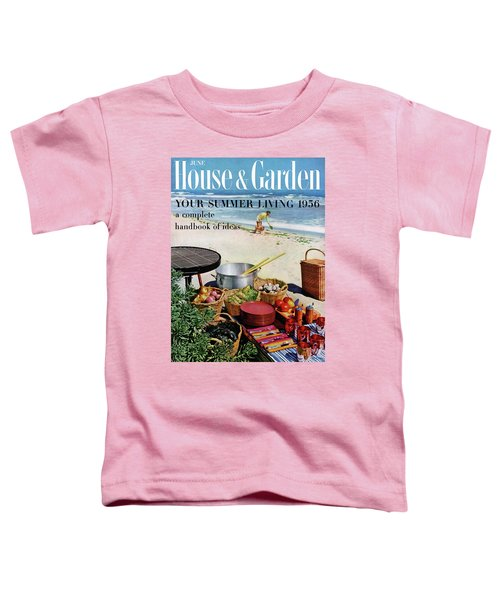 House And Garden Ideas For Summer Issue Cover Toddler T-Shirt
