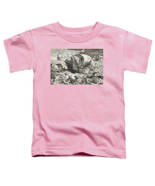 Hunting Sea Creatures Toddler T-Shirt