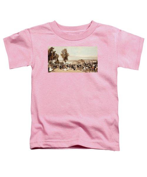 Hyde Park, Towards The Grosvenor Gate Toddler T-Shirt by Thomas Shotter Boys