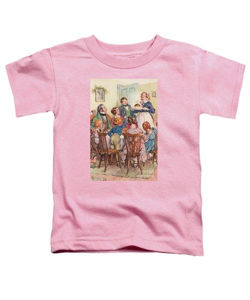 Illustration For A Christmas Carol Toddler T-Shirt