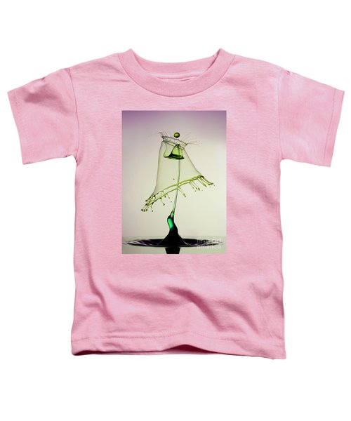 Toddler T-Shirt featuring the photograph In Green by Jaroslaw Blaminsky
