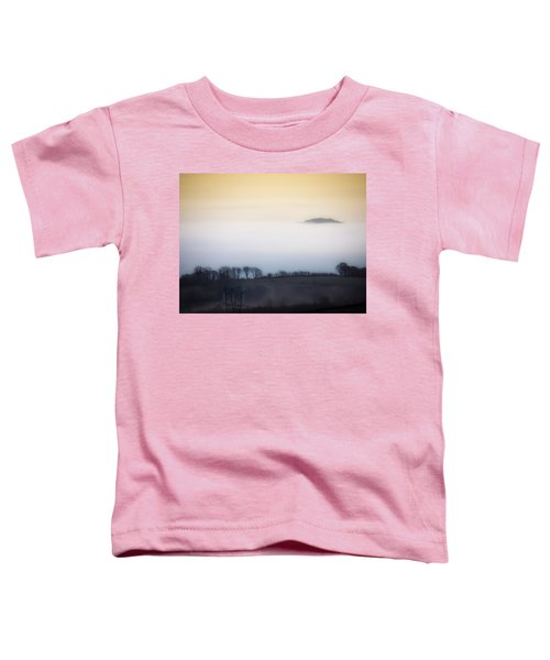 Toddler T-Shirt featuring the photograph Island In The Irish Mist by James Truett