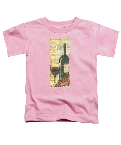 Italian Wine And Grapes Toddler T-Shirt