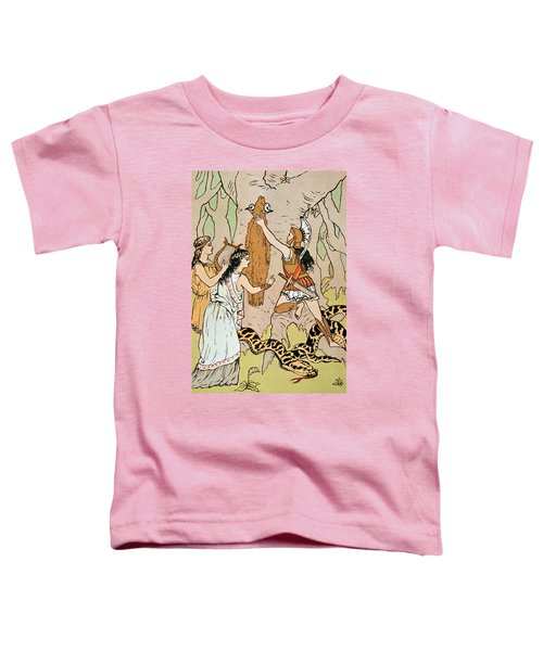 Jason Seizing The Golden Fleece Toddler T-Shirt