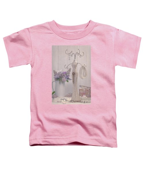 Jewellery And Pearls Toddler T-Shirt