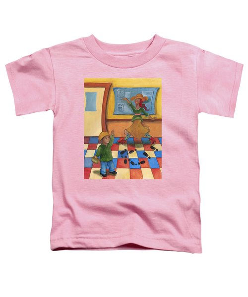 Jhonan And His Teacher  Toddler T-Shirt