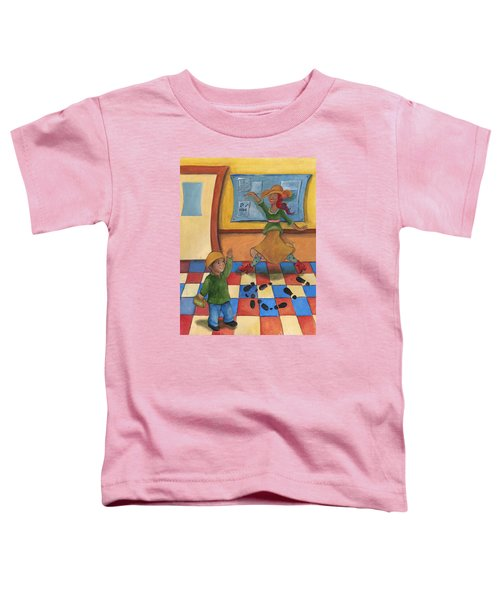 Jhonan And His Teacher  Toddler T-Shirt