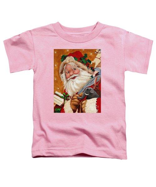 Jolly Santa Toddler T-Shirt