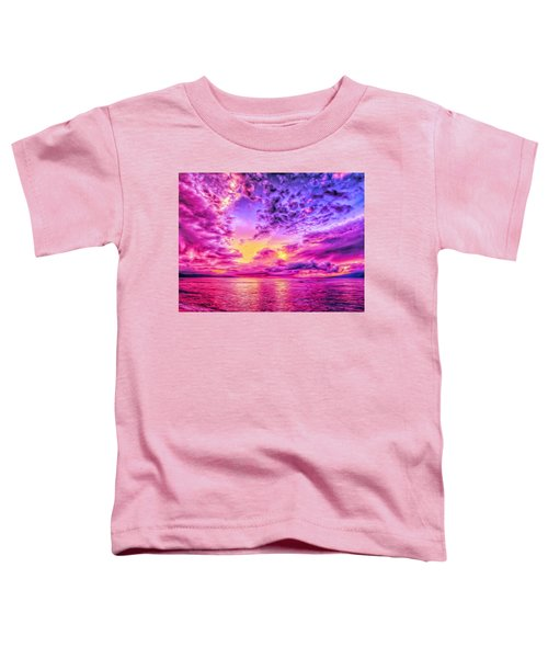 Kaanapali Beach Sunset Toddler T-Shirt
