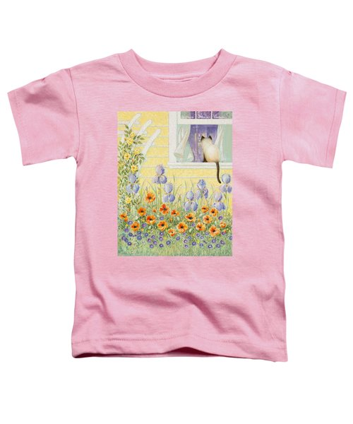 Kitty In The Window Toddler T-Shirt