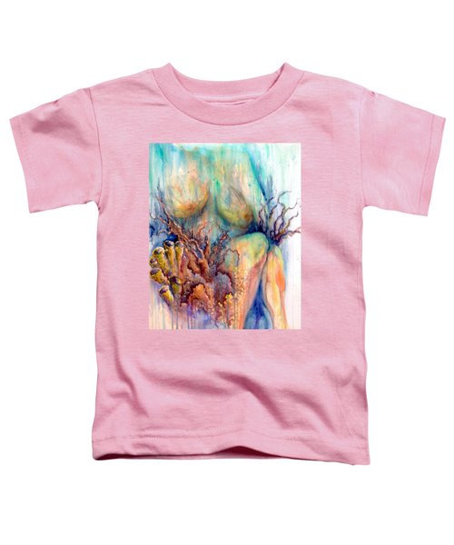 Lady In The Reef Toddler T-Shirt