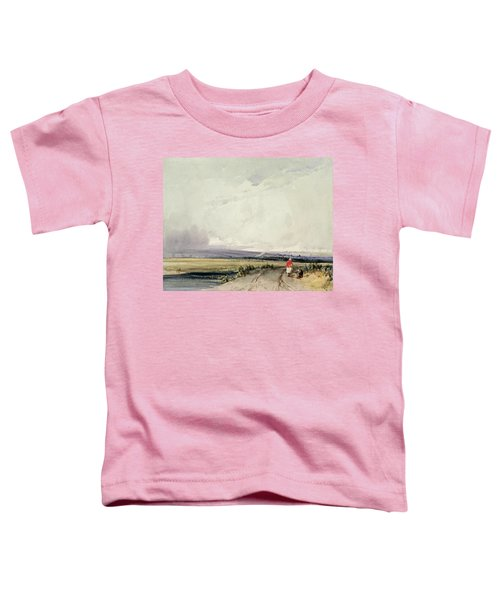 Landscape In Normandy, Traditionally Toddler T-Shirt