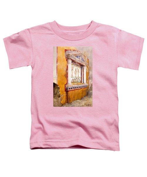 Lararium Of Family Altar, Seen In Situ Toddler T-Shirt