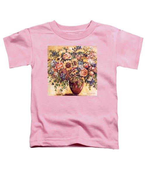 Late Summer Bouquet Toddler T-Shirt