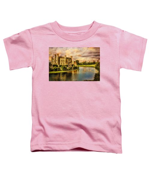 Leeds Castle Landscape Toddler T-Shirt