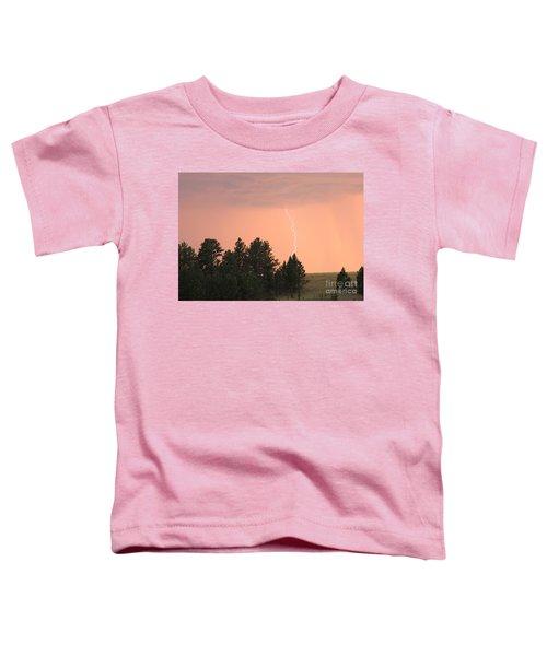 Lighting Strikes In Custer State Park Toddler T-Shirt