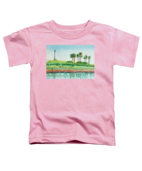 Long Beach Lighthouse Toddler T-Shirt