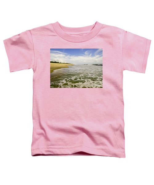 Low Tide At The Beach Toddler T-Shirt