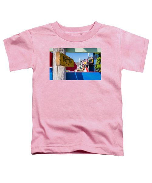 Maine Lobster Toddler T-Shirt