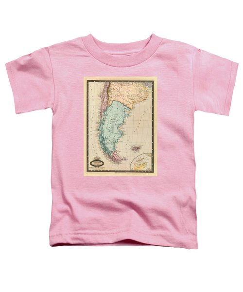 Map Of Patagonia 1860 Toddler T-Shirt