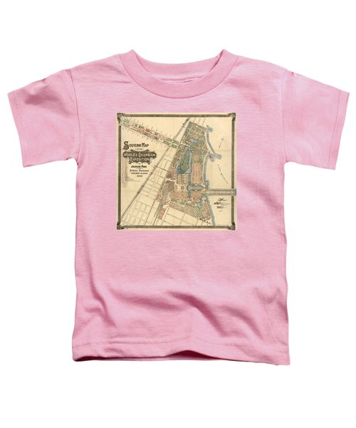 Map: Worlds Fair, 1893 Toddler T-Shirt