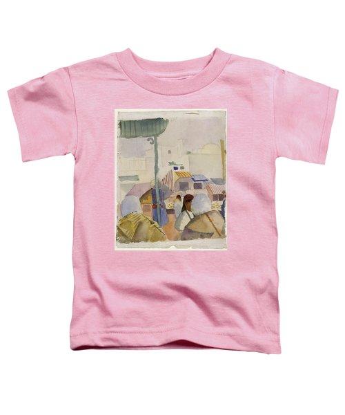 Market In Tunis II Toddler T-Shirt