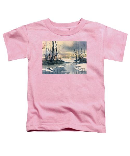 Melt Water On Skipwith Common Toddler T-Shirt