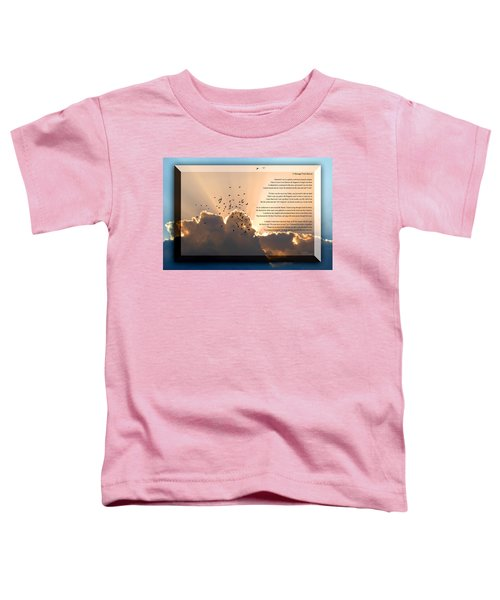 Message From Heaven Toddler T-Shirt