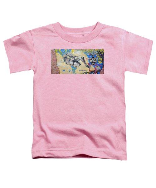 Minotaur Toddler T-Shirt by Derrick Higgins
