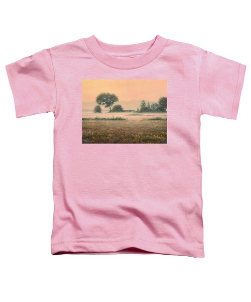 Misty Morning Toddler T-Shirt