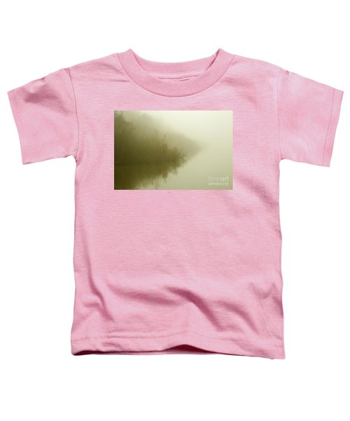 Misty Morning Reflection. Toddler T-Shirt