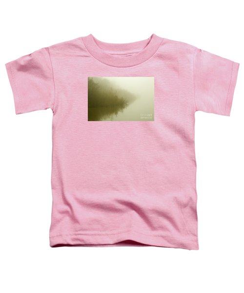 Misty Morning Reflection. Toddler T-Shirt