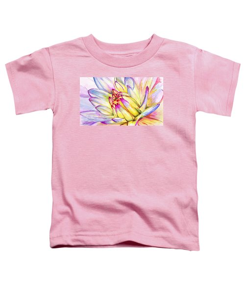 Morning Flower Toddler T-Shirt