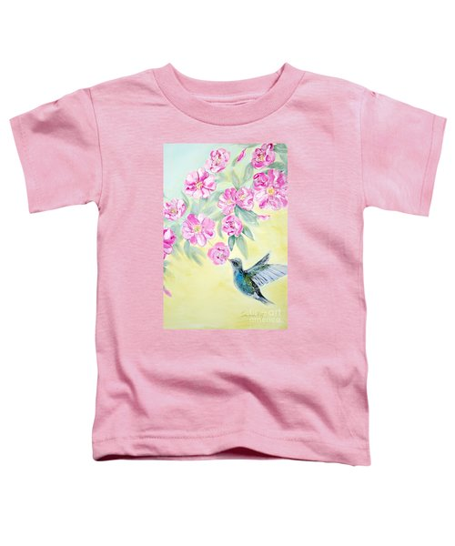 Morning In My Garden. Card Toddler T-Shirt