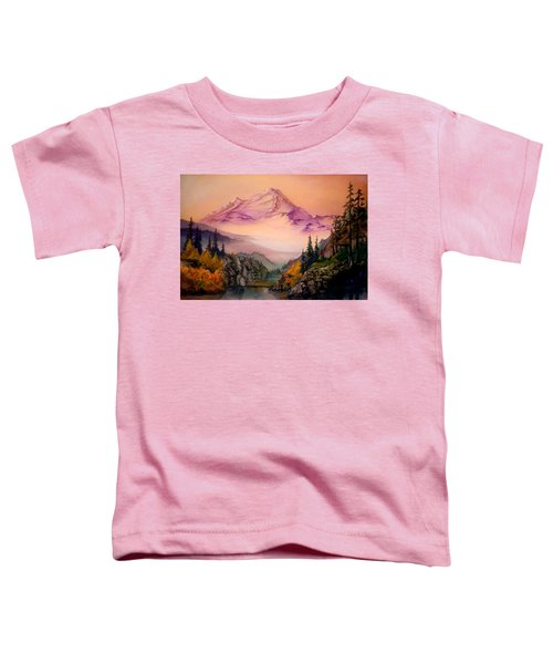 Mount Baker Morning Toddler T-Shirt