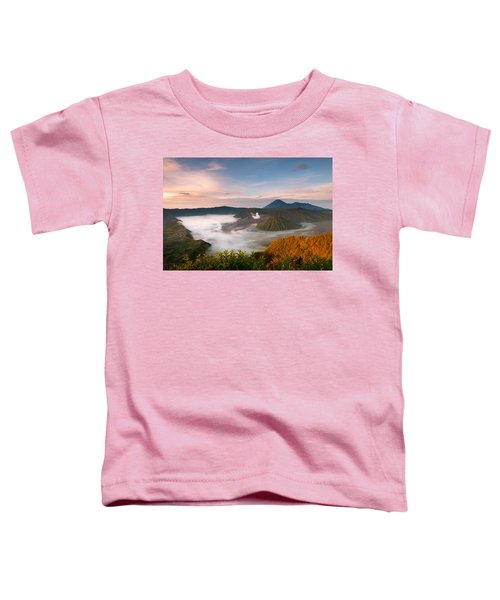 Mount Bromo Sunrise Toddler T-Shirt
