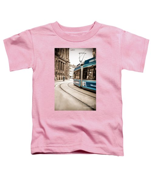 Munich City Traffic Toddler T-Shirt