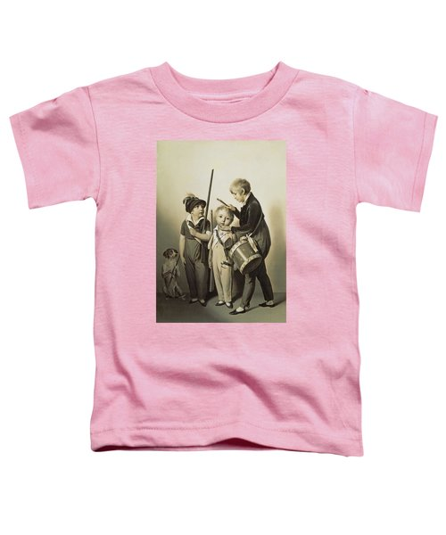 My Little Soldiers, 1809 Oil On Canvas Toddler T-Shirt