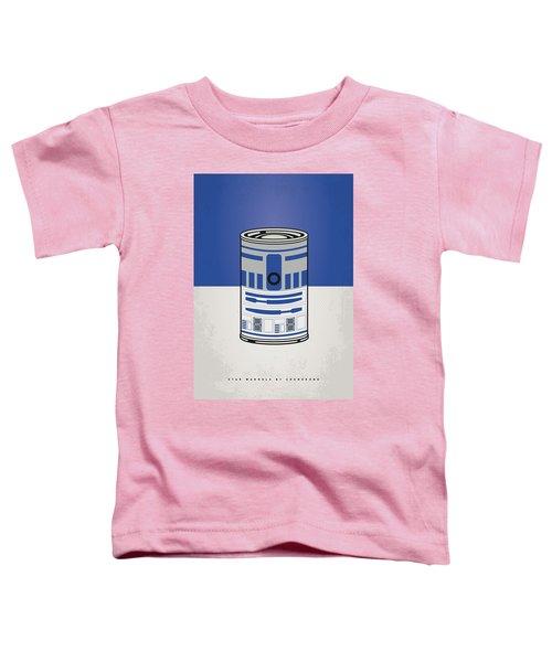 My Star Warhols R2d2 Minimal Can Poster Toddler T-Shirt
