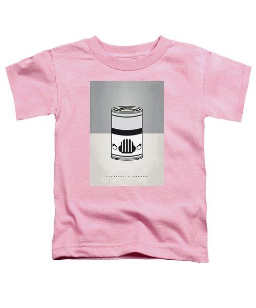 My Star Warhols Stormtrooper Minimal Can Poster Toddler T-Shirt