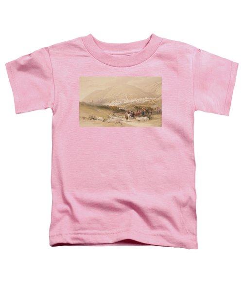 Nablous   Ancient Shechem Toddler T-Shirt