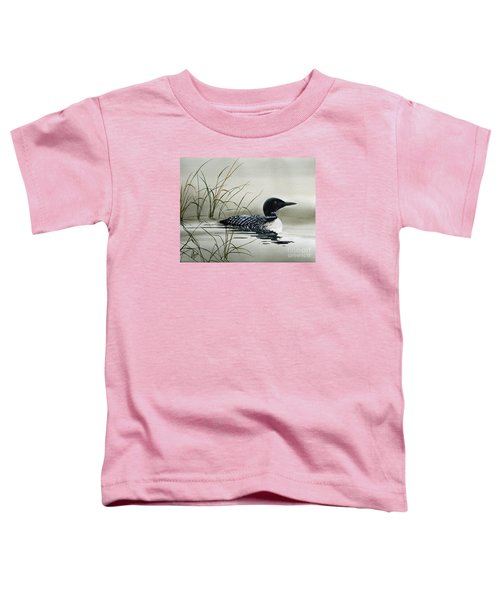 Nature's Serenity Toddler T-Shirt by James Williamson