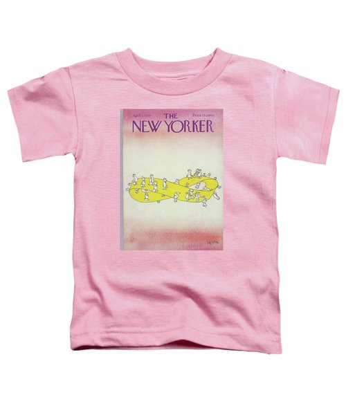 New Yorker April 5th, 1976 Toddler T-Shirt