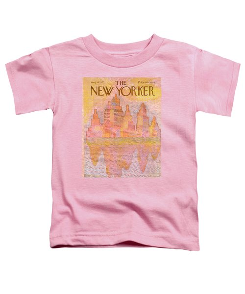 New Yorker August 18th, 1975 Toddler T-Shirt